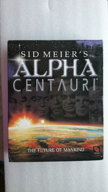 Sid Meier's Alpha Centauri  PC Big Box Edition..Includes Original Poster